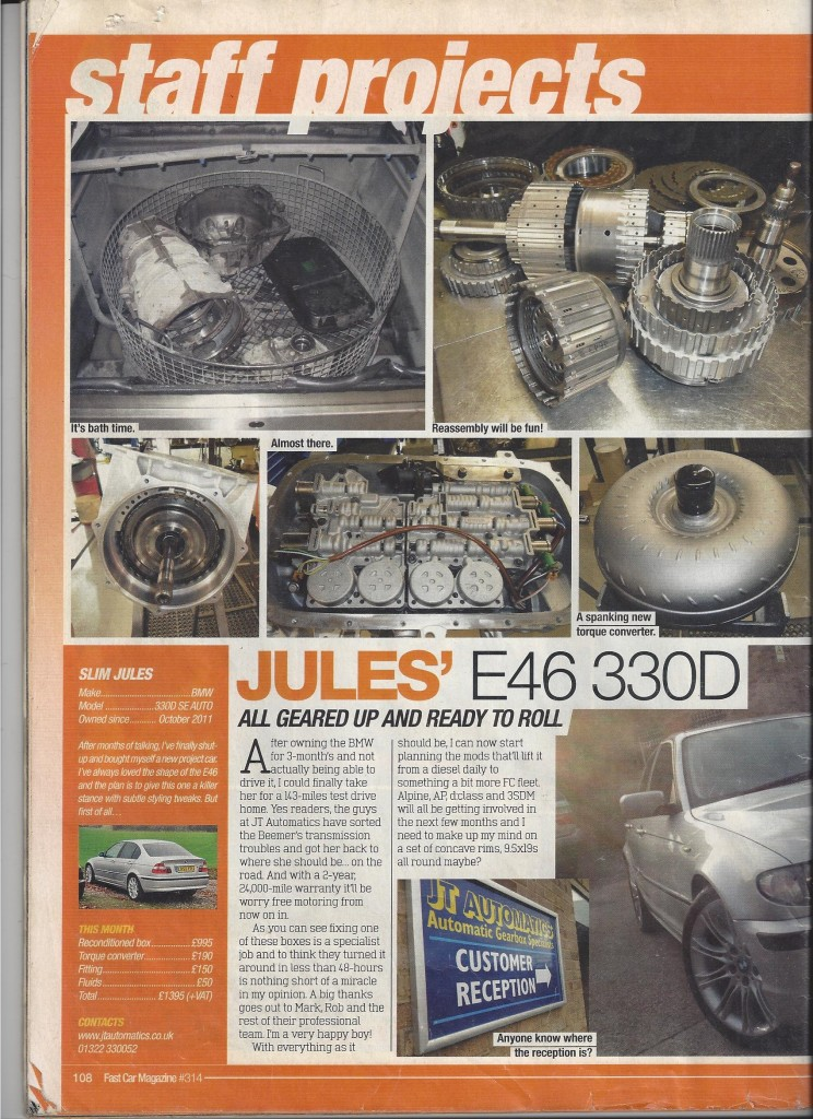 330 gearbox fast car mag